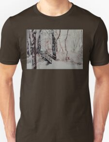 Winter Wonderland - Snow Scene T-Shirt