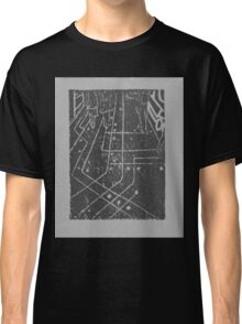 computer chip sidewalk, in grey Classic T-Shirt