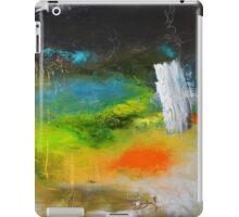 Green Abstract Art  iPad Case/Skin