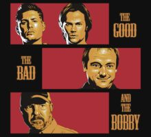 The Good, The Bad, And The Bobby by coinbox tees