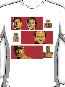 The Good, The Bad, And The Bobby T-Shirt