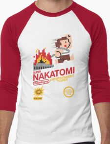 Super Nakatomi Tower Men's Baseball ¾ T-Shirt