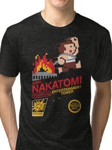 Super Nakatomi Tower Tri-blend T-Shirt