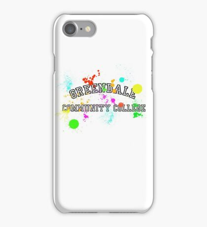 Greendale Community College - Paintball iPhone Case/Skin