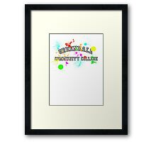 Greendale Community College - Paintball Framed Print