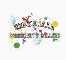 Greendale Community College - Paintball Kids Tee