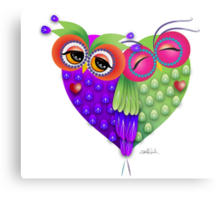 Owl´s love Metal Print