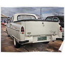 Ford Zephyr Ute … rear Poster