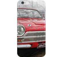 Red Cortina … front iPhone Case/Skin