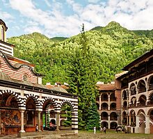 Rila Monastery, Bulgaria by atomov
