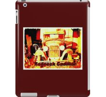 """Redneck Cadillac""... prints and products iPad Case/Skin"