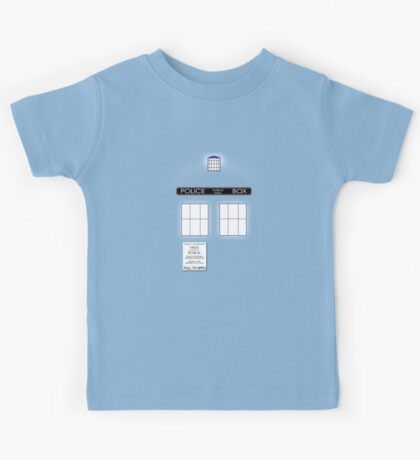 Time And Relative Dimensions In Space Kids Tee