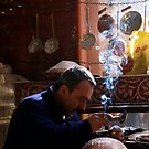 Turkish Copper Engraver by travellingtwo