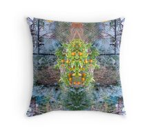 Northcote Community Gardens  Fantasy 11 Throw Pillow