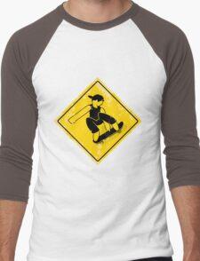 Wall ride melon Men's Baseball ¾ T-Shirt