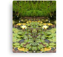 Northcote Community Gardens  Fantasy 10 Canvas Print