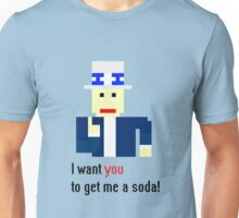 Uncle Sam get me a soda! Unisex T-Shirt