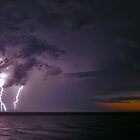 Lightning Storm by Phil Bain