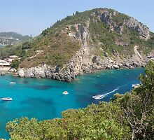 Beautiful Corfu in Mediterranean by loiteke