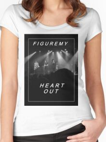 heart out Women's Fitted Scoop T-Shirt