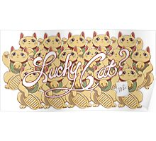 Lucky Cat? Poster