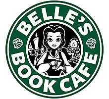 Belle's Book Cafe Photographic Print