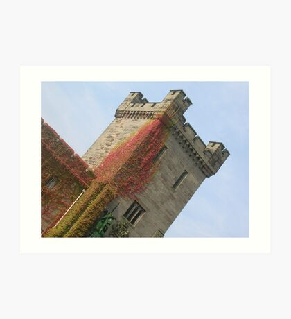 Alton Towers Castle Art Print