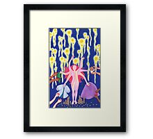 grimms fairy tale Framed Print
