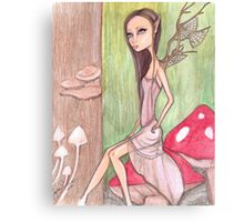 Forest Fairy Canvas Print