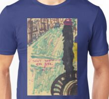 shot down 5th avenue Unisex T-Shirt
