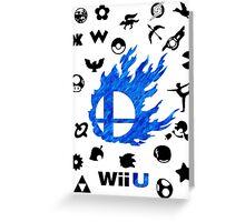 Smash Wii U Greeting Card