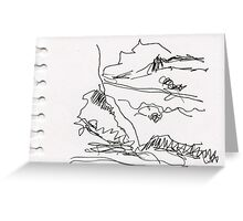 Quick Landscape 1 Greeting Card