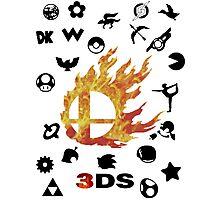 Smash 3DS Photographic Print