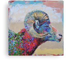Capital Sheep Canvas Print