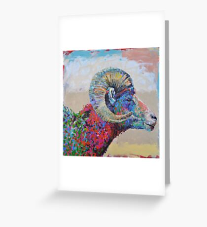 Capital Sheep Greeting Card