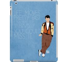 Ferris Bueller Quote iPad Case/Skin