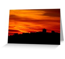 Morning Silhouettes Greeting Card