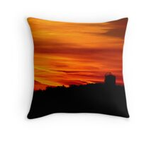 Morning Silhouettes Throw Pillow