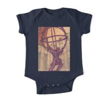 atlas holding the world One Piece - Short Sleeve