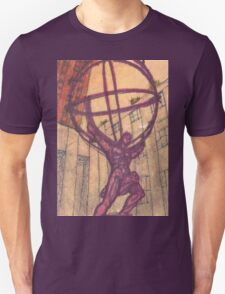 atlas holding the world Unisex T-Shirt