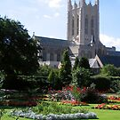 Memories of Suffolk - St Edmundsbury Cathedral by Crystallographix