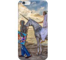 The triumphant return of Lady Art iPhone Case/Skin