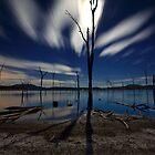 Hidden moon by Garry Schlatter