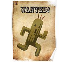 Wanted! Cactuar! Poster