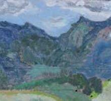 Mt Burrell. N.S.W Australia by carolyn cleak