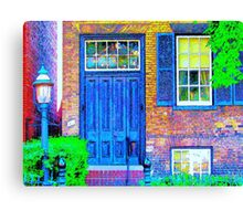 Toronto Life-Mackenzie House Museum-Available As Art Prints-Mugs,Cases,Duvets,T Shirts,Stickers,etc Canvas Print