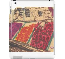 chinatown fruit stand iPad Case/Skin