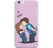 castle kiss iPhone Case/Skin