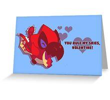 Rathalos Loves You Greeting Card