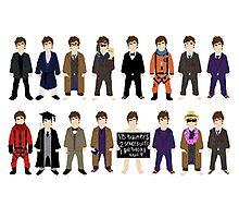The Doctor's Wardrobe - Ten Photographic Print
